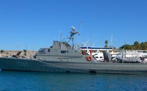 Picture boat, Greece, patrol, diopus antoniou