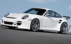 Picture coupe, Porsche, sports car, sports car, 997 Turbo, Rinspeed Le Mans 600