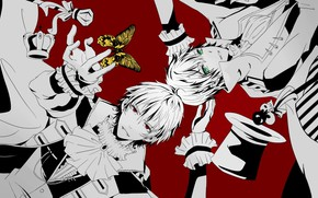 Picture guys, two, Mahiro Fuwa, Zetsuen No Tempest, Yoshino Takigawa