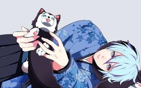 Picture Dog, anime, art, Kuroko's Basketball, Kuroko from the Baske, Kuroko, Tetsuya