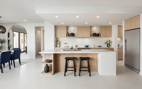 Picture design, interior, kitchen, dining room, Langholm