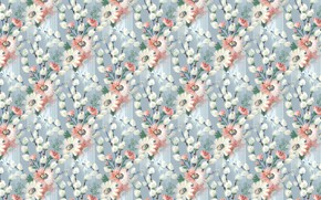 Picture pattern, background, flowers, texture, floral