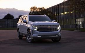 Picture Chevrolet, front, SUV, Suburban, 2020