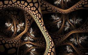Picture pattern, color, brown