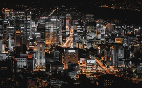 Picture night, the city, Seoul