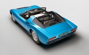 Picture Lamborghini, Classic, Miura, 1968, Classic car, Lamborghini Miura, Lamborghini Miura Roadster