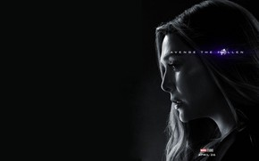 Picture Avengers: Endgame, Scarlet Witch, Ashes after clicking, Avengers Finale, Terpily Thanos