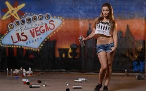 Picture girl, graffiti, model, las vegas, pornstar, dani daniels