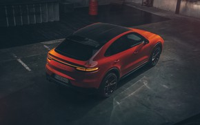 Picture Porsche, Coupe, Cut, Cayenne Turbo, 2019