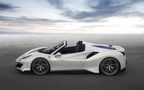 Picture machine, Ferrari, sports car, Spider, 488, Pista