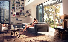 Picture Girl, Home, Design, Style, Room, Interior, Furniture, Moods