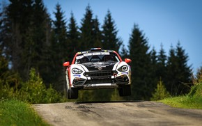 Picture flight, rally, 2018, Abarth, 124 Rally