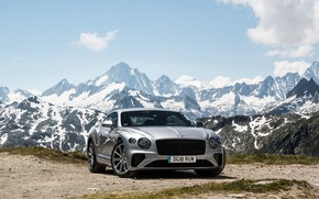 Picture Bentley, Continental, 2018, the mountains