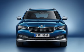 Picture front view, Skoda, Scout, Superb, 2019