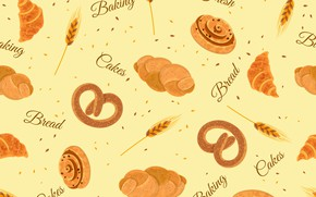Picture background, food, texture, bread, cakes