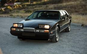 Picture Black, Sedan, Lights, Aston Martin Lagonda
