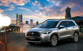 Picture Toyota, Hybrid, Corolla, Cross, TH-spec, 2020