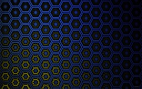 Picture texture, hexagons, cell