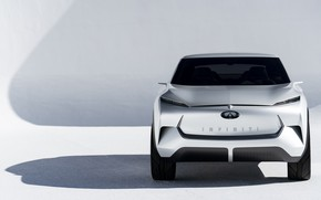 Picture Concept, Infiniti, front view, crossover, 2019, QX Inspiration