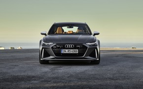 Picture Audi, front view, Before, RS6, RS 6, 2019