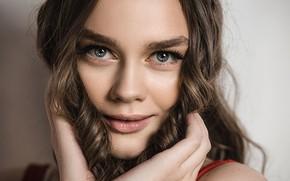 Picture look, girl, face, Vladimir Vasiliev