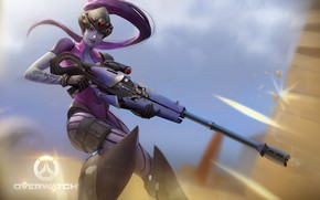 Picture Minimalism, Figure, The game, Blizzard, Art, Art, Sniper, Game, Amelie, Illustration, Character, Characters, Fan art, …