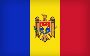 Picture Flag, Moldova, Moldova Large Flag, Flag Of Moldova, Moldavia