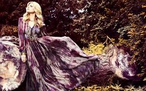 Picture girl, pose, photo, model, dress, Maryna Linchuk, Marina Linchuk