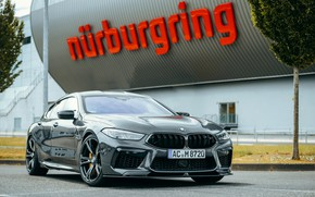 Picture coupe, BMW, Parking, Gran Coupe, AC Schnitzer, 2020, BMW M8, M8, the four-door, M8 Gran …
