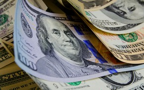 Picture dollar, bills, Franklin, dollar, banknotes, 100