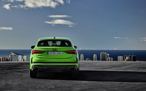 Picture Audi, rear view, crossover, Sportback, 2020, RS Q3