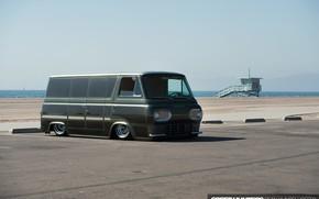 Picture Ford, Car, Van Slammed