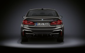 Picture BMW, sedan, rear view, BMW M5, M5, F90, 2019, Edition 35 Years