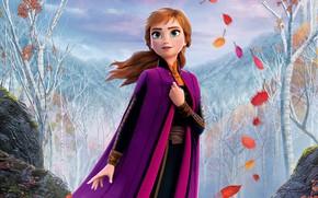 Picture cartoon, cartoon, Frozen, Anna, Anna, Cold Heart, Cold heart 2