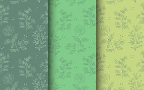Picture flowers, background, pattern, background