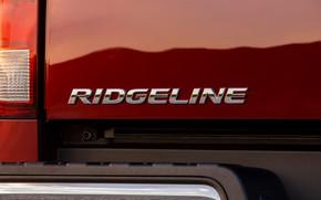 Picture reflection, Honda, pickup, Ridgeline, 2019