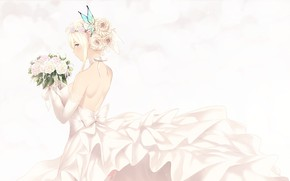 Picture Girl, Bouquet, The bride, Boku Wa Tomodachi Ga Sukunai