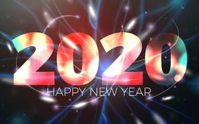 Picture New year, Christmas, New Year, 2020