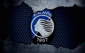 Picture wallpaper, sport, logo, football, Atalanta