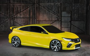 Picture coupe, Honda, side, 2015, Civic Concept