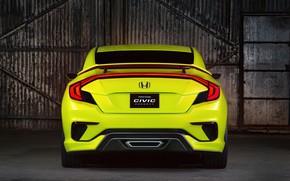Picture coupe, Honda, ass, 2015, Civic Concept