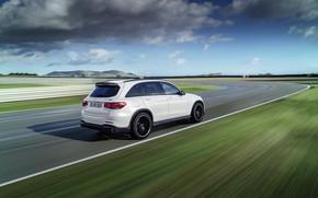 Picture clouds, Mercedes-Benz, crossover, GLC, Mercedes-AMG, 4Matic+, GLC 63S