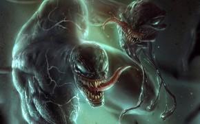 Picture victory, monsters, Venom, Venom, the symbiote, gorowa