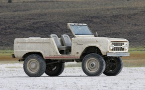 Picture tuning, Ford, 1966, 2018, right, Bronco, ICON Bronco Derelict Roadster