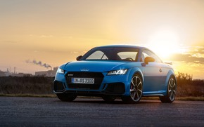 Picture sunset, Audi, Coupe, TT RS, 2019