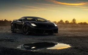 Picture design, Lamborghini, car, Turbo