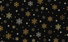 Picture snowflakes, background, Texture, stars