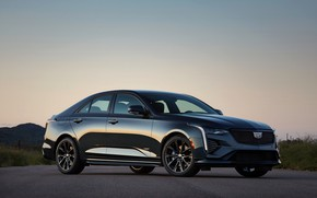 Picture Cadillac, the evening, sedan, four-door, 2020, CT4-V