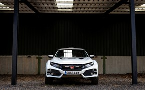 Picture Concept, Honda, front view, 2019, Civic Type R, Civic Type OveRland