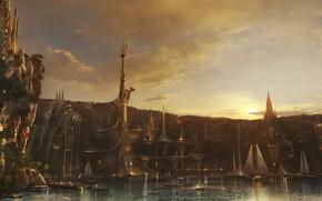 Picture the city, fiction, Armando Savoia, Corabi, umakala chi city bay